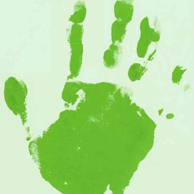 微信头像山水绿叶